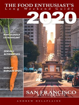 cover image of San Francisco 2020 Restaurants