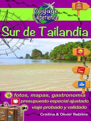 cover image of eGuía Viaje: Sur de Tailandia