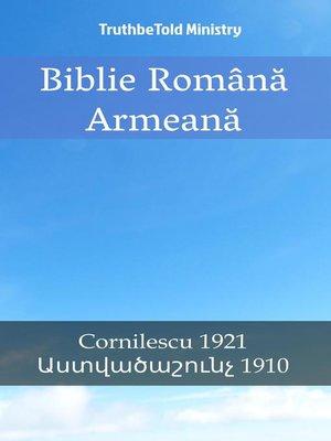 cover image of Biblie Română Armeană