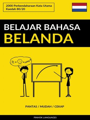 cover image of Belajar Bahasa Belanda--Pantas / Mudah / Cekap