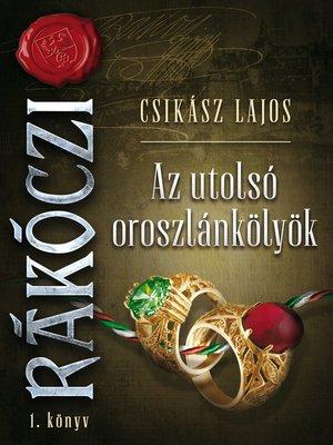 cover image of Az utolsó oroszlánkölyök