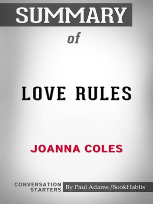 cover image of Summary of Love Rules: How to Find a Real Relationship in a Digital World