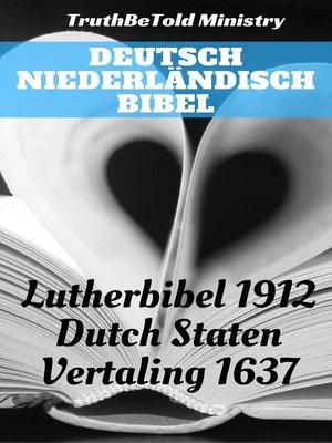 cover image of Deutsch Niederländisch Bibel