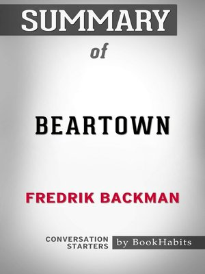 cover image of Summary of Beartown: A Novel