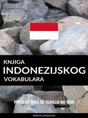 cover image of Knjiga indonezijskog vokabulara