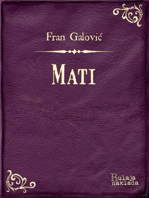 cover image of Mati