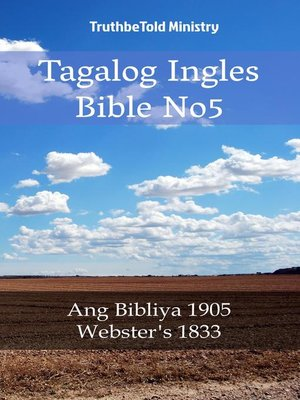 cover image of Tagalog Ingles Bible No5