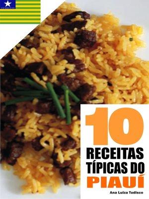 cover image of 10 Receitas típicas do Piauí