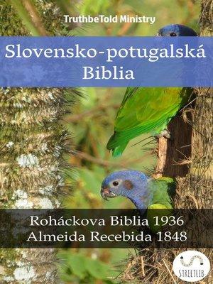 cover image of Slovensko-potugalská Biblia