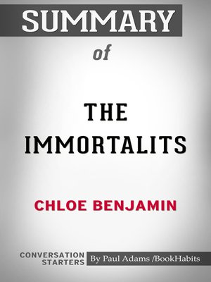 cover image of Summary of the Immortalists