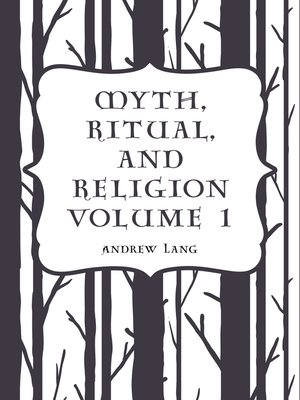 cover image of Myth, Ritual, and Religion Volume 1