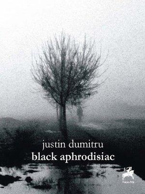 cover image of black aphrodisiac