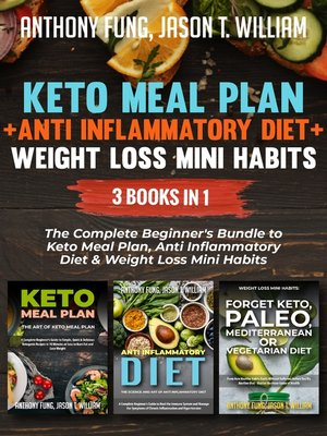 cover image of Keto Meal Plan + Anti Inflammatory Diet + Weight Loss Mini Habits