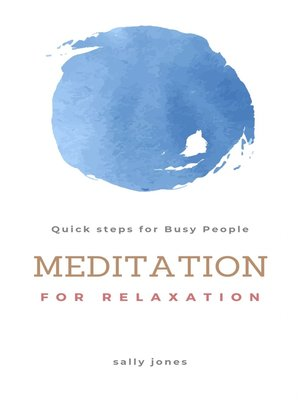 cover image of Meditation for Relaxation