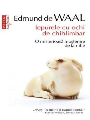 cover image of Iepurele cu ochi de chihlimbar
