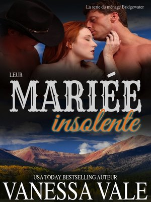 cover image of Leur mariée insolente
