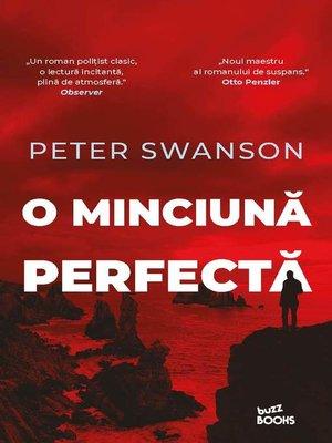 cover image of O minciună perfectă