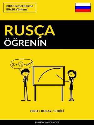 cover image of Rusça Öğrenin - Hızlı / Kolay / Etkili