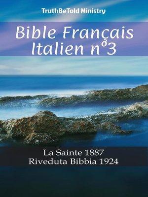 cover image of Bible Français Italien n°3