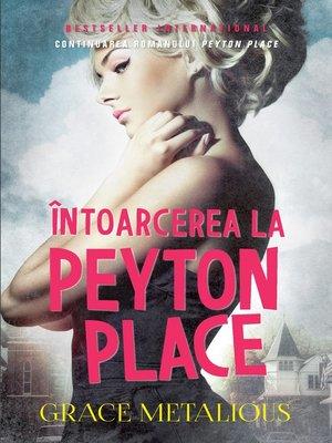 cover image of Intoarcerea La Peyton Place
