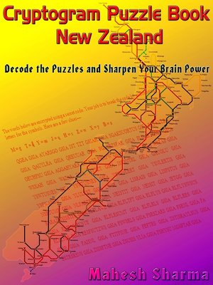 cover image of Cryptogram Puzzle Book New Zealand