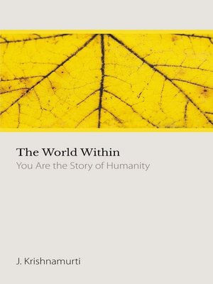 cover image of The World Within
