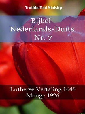 cover image of Bijbel Nederlands-Duits Nr. 7