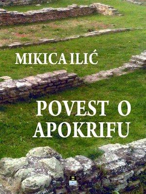 cover image of Povest o apokrifu