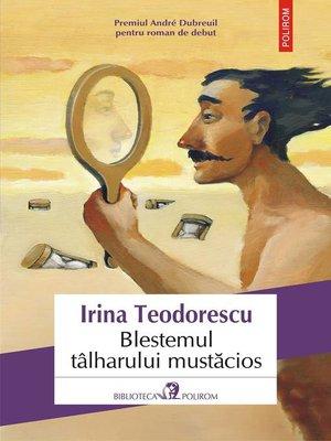 cover image of Blestemul tâlharului mustăcios