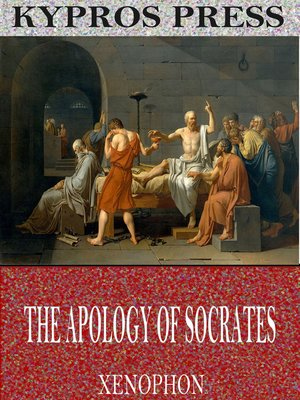 cover image of The Apology of Socrates
