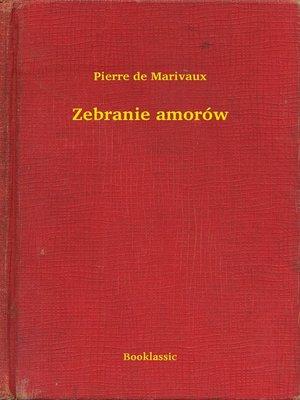cover image of Zebranie amorów