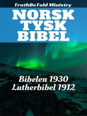 cover image of Norsk Tysk Bibel