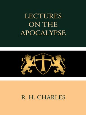 cover image of Lectures on the Apocalypse