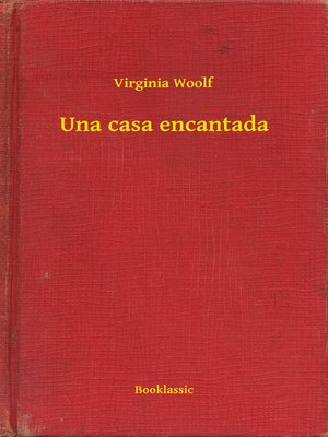 cover image of Una casa encantada