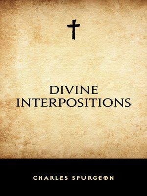 cover image of Divine Interpositions