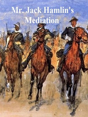 cover image of Mr. Jack Hamlin's Mediation