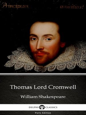 cover image of Thomas Lord Cromwell by William Shakespeare - Apocryphal