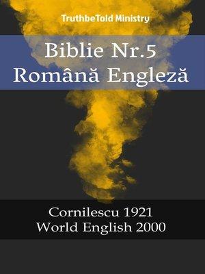 cover image of Biblie Nr.5 Română Engleză