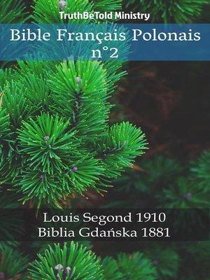 cover image of Bible Français Polonais n°2
