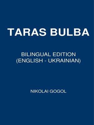 cover image of Taras Bulba