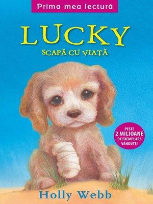 cover image of Lucky scapă cu viață