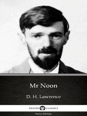 cover image of Mr Noon by D. H. Lawrence