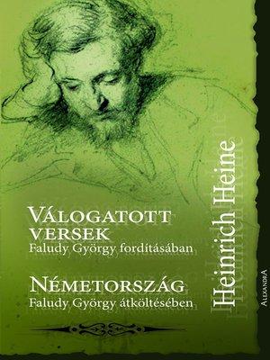 cover image of Heinrich Heine válogatott versek