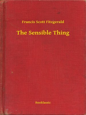 cover image of The Sensible Thing