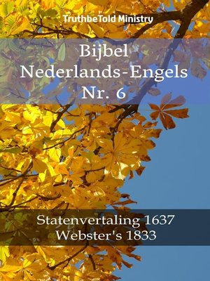 cover image of Bijbel Nederlands-Engels Nr. 6