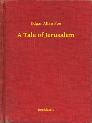 cover image of A Tale of Jerusalem