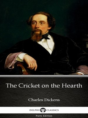 cover image of The Cricket on the Hearth by Charles Dickens (Illustrated)