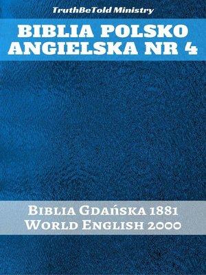 cover image of Biblia Polsko Angielska Nr 4