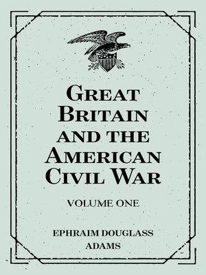 cover image of Great Britain and the American Civil War