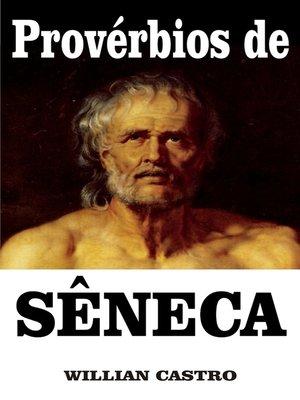 cover image of Provérbios de Sêneca